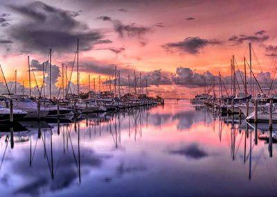 Miami-marina