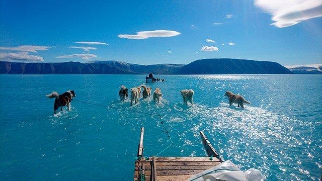 Groenlandia se derrite aceleradamente
